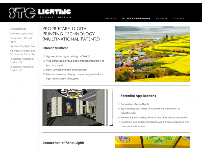 網頁設計|網站設計案例, STG-lighting(日瓷貿易有限公司)