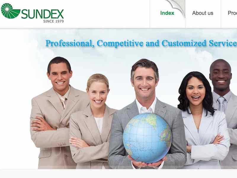 網頁設計|網站設計案例, Sundex Corporation