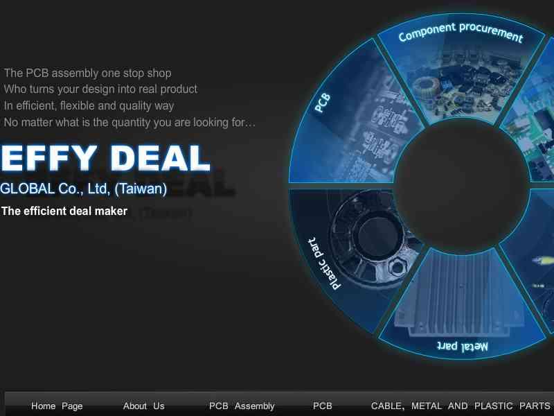 網頁設計|網站設計案例, Effy Deal Global Co.,Ltd.