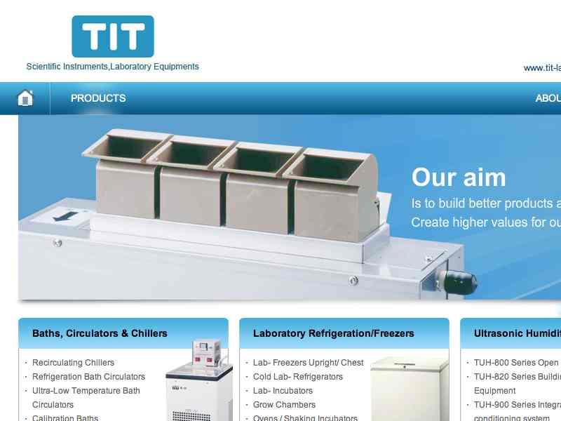 網頁設計|網站設計案例, Tungtec Instruments Corp.