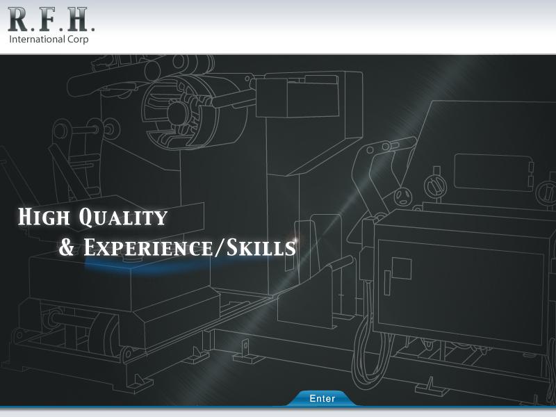 網頁設計|網站設計案例, 鐳富恆國際有限公司