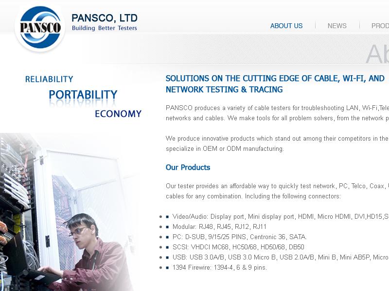 網頁設計|網站設計案例, 群克企業有限公司
