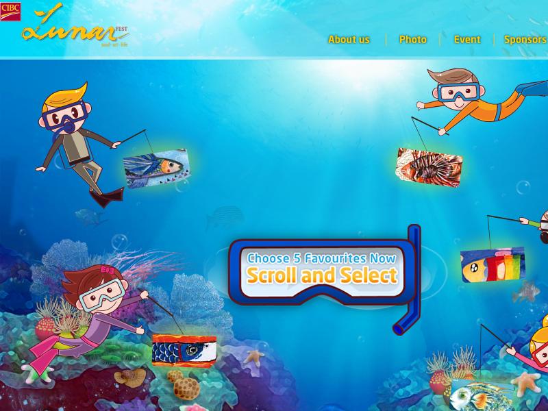 網頁設計|網站設計案例, 加拿大亞裔活動協會
