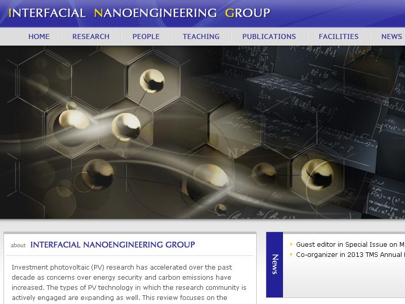 網頁設計|網站設計案例, 香港大學機械系