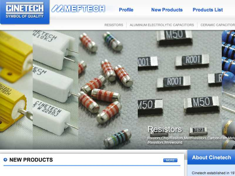 網頁設計|網站設計案例, Cinetech Ind. Co., Ltd.