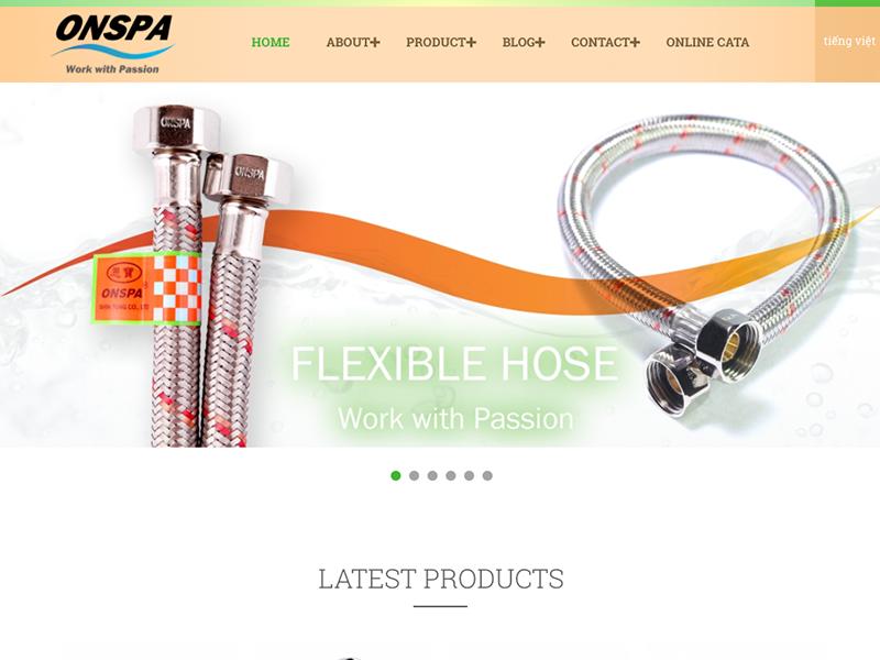 網頁設計|網站設計案例, ONSPA