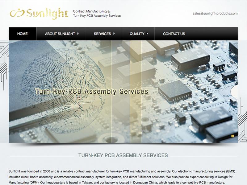 網頁設計|網站設計案例, 日光資訊