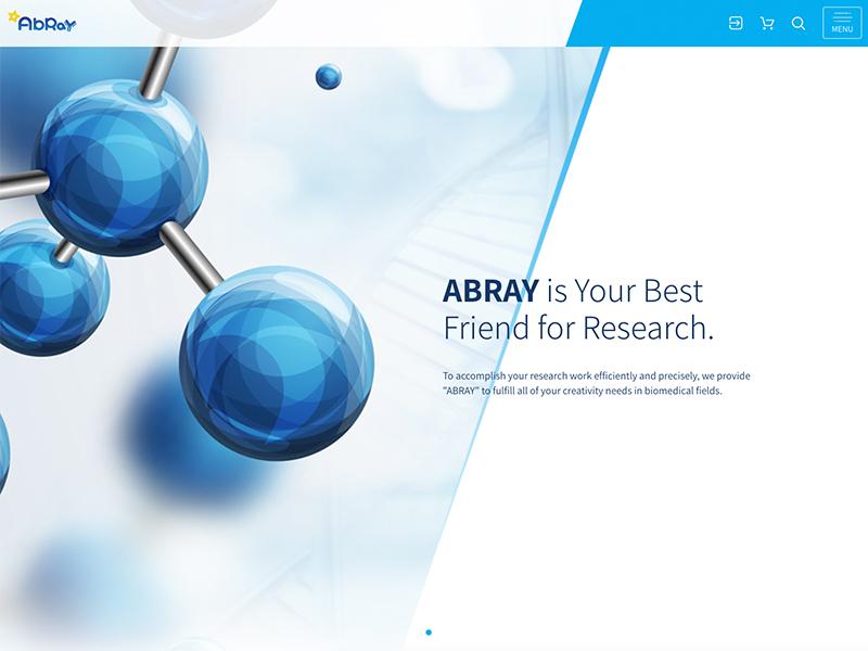 網頁設計|網站設計案例, ABRAY