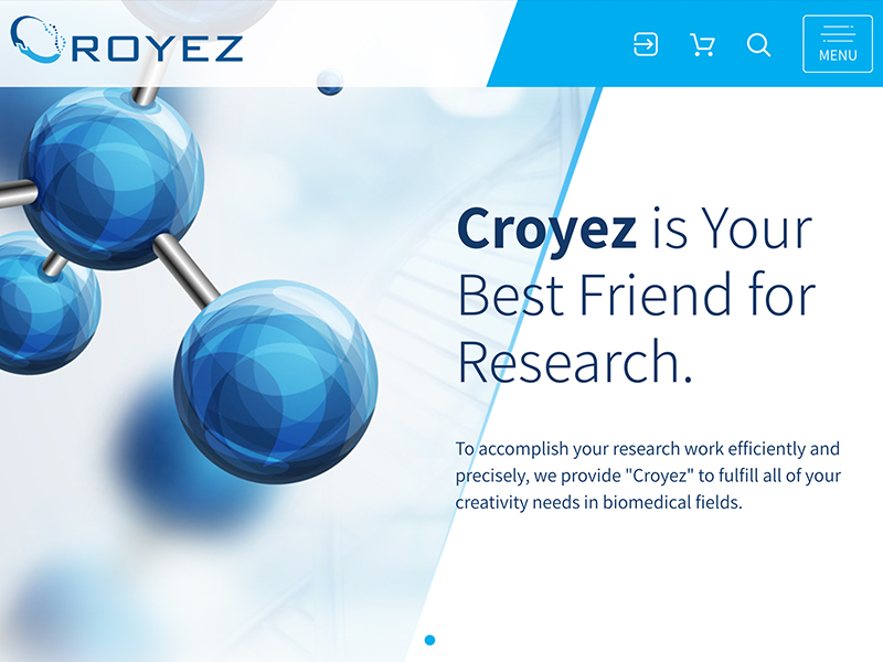 網頁設計|網站設計案例, croyezbio