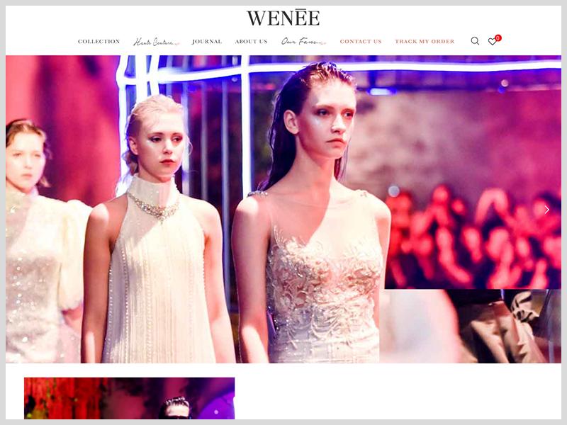 網頁設計|網站設計案例, 薇妮體雕